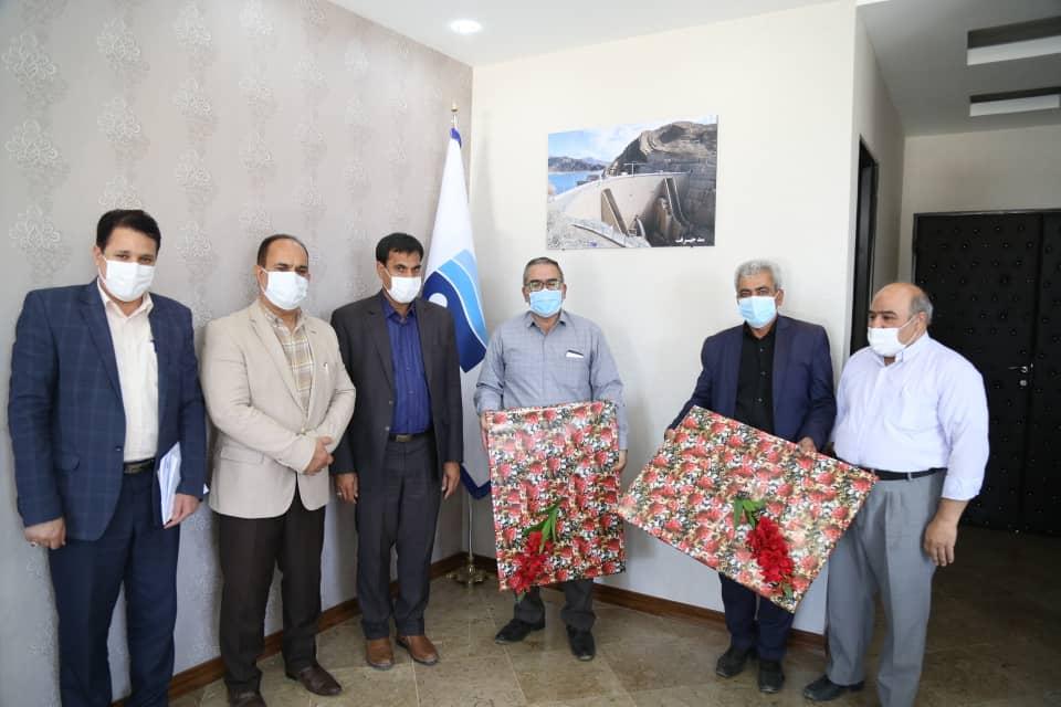 تجلیل از آزادگان شرکت آب منطقه ای کرمان