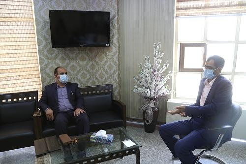 دیدار مدیرعامل شرکت آب منطقه ای کرمان  با مدیرکل ثبت اسناد و  املاک استان