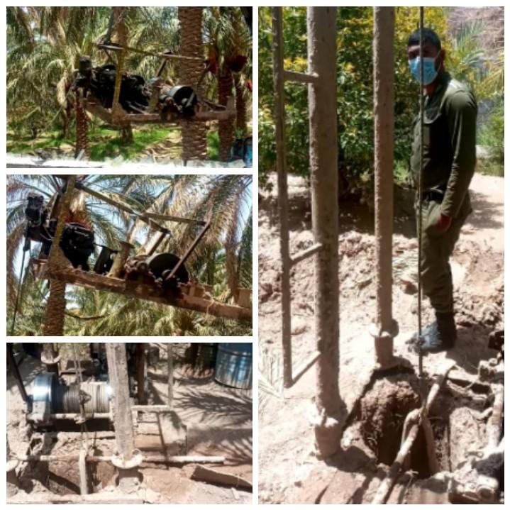 توقیف دو دستگاه حفاری غیرمجاز در شهرستان نرماشیر
