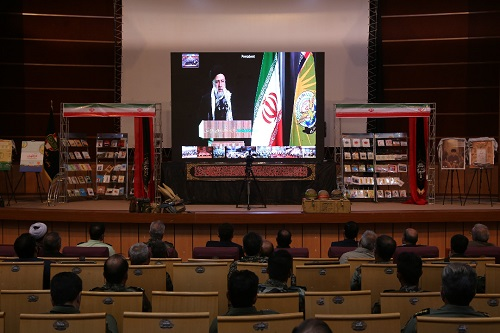 حضور مدیرعامل آب منطقه ای درجلسه تجلیل از پیشکسوتان دفاع مقدس استان کرمان